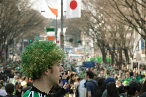 Paddy`s day Tokyo