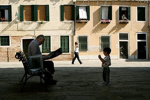 Taku in Venice