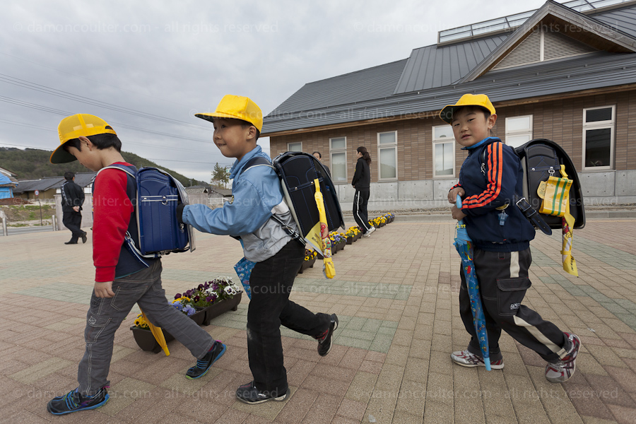 Kawauchi Elementary School, Kawauchi, Fukushima, Japan. Tuesday April 30th 2013