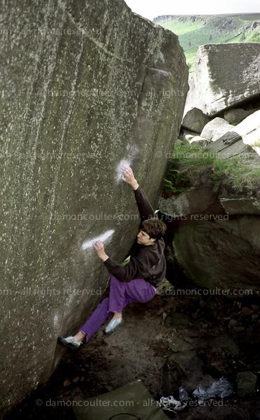 Stanage Bouldering