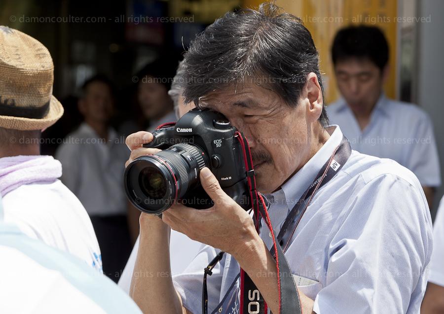 AP photographer Itsuo Inouye