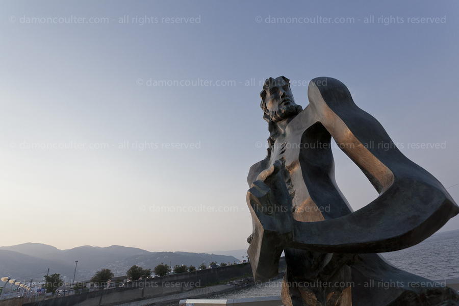 William Adams statue in Ito