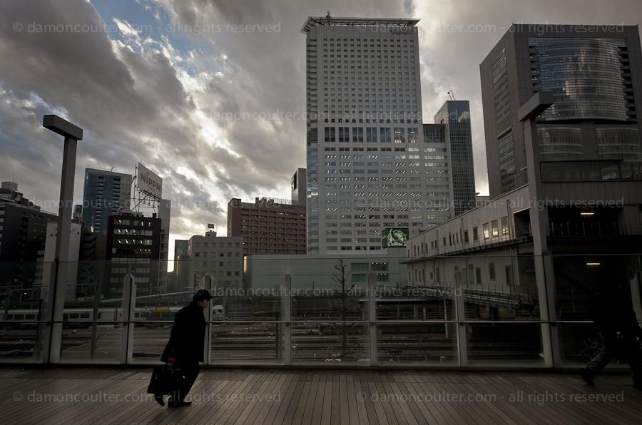 Shinjuku, Tokyo, Japan. Friday January 25th 2013