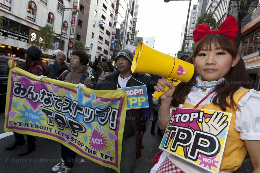 Anti TPP protest