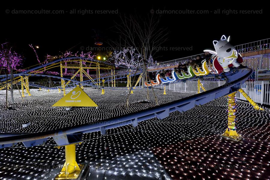 Yomuiriland rollercoaster, Tokyo, Japan