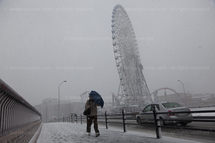 Heavy Snows in Yokohama
