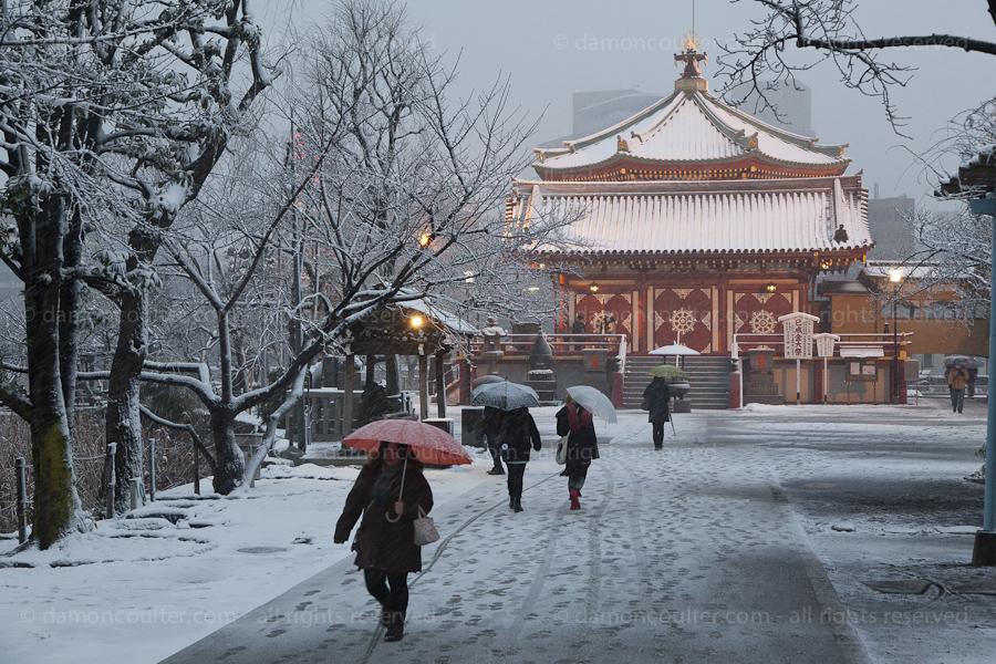 Heavy Snows in Tokyo