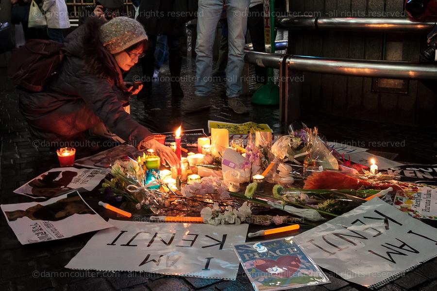 dc isis hostage silent vigil tokyo-201502082697